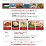 Palestinian Cuisine - Feb 22 - Culture Kitchen-1