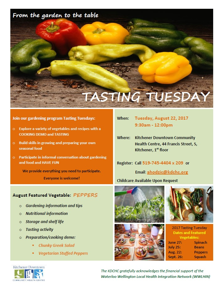 Tasting Tuesday - Aug 2217