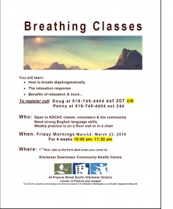 Breathing Class Spring 2018