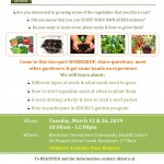 Seed Starting -workshop - March 12 26-1
