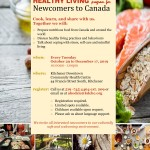 Healthy Living in Canada - newcomers